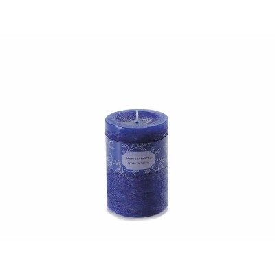 Set 4 Candele media blu royal