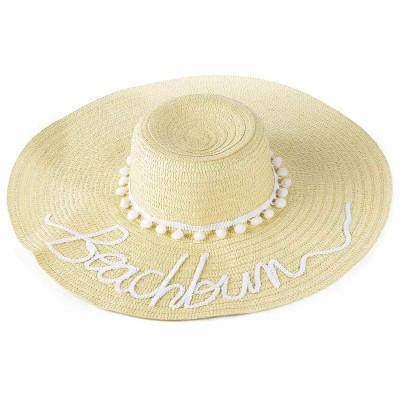 Set 2 cappelli in paglia naturale Beachbum